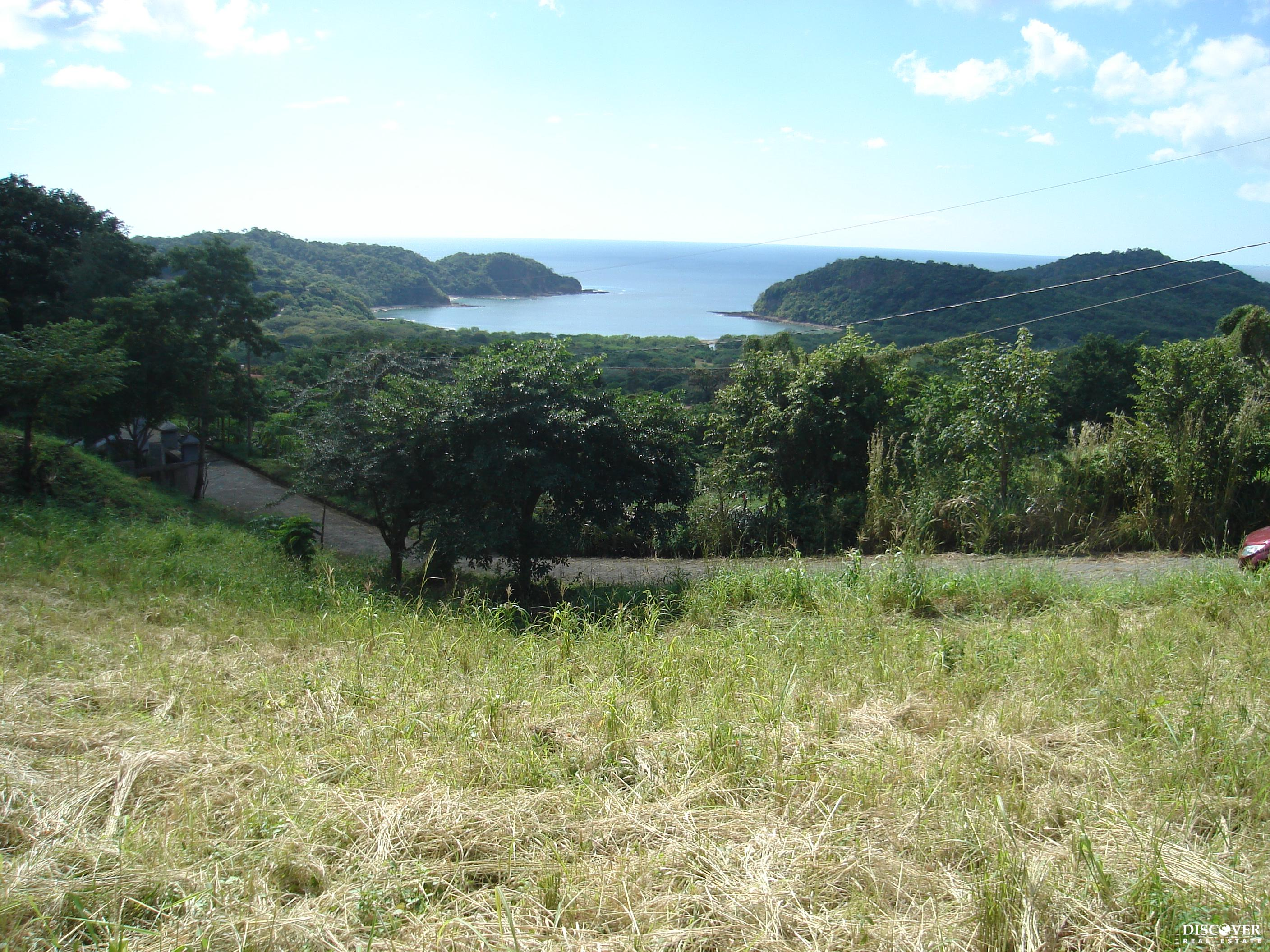 Ocean View Lot in Gated Development Minutes from San Juan del Sur