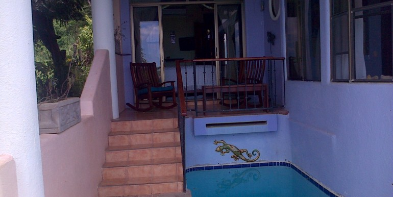 Nacascolo Bay 3 Bedroom Home Pool Entrance