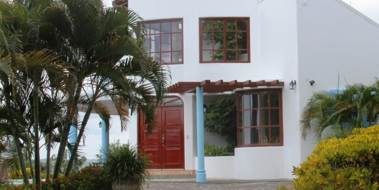 Casa El Faro Entrance
