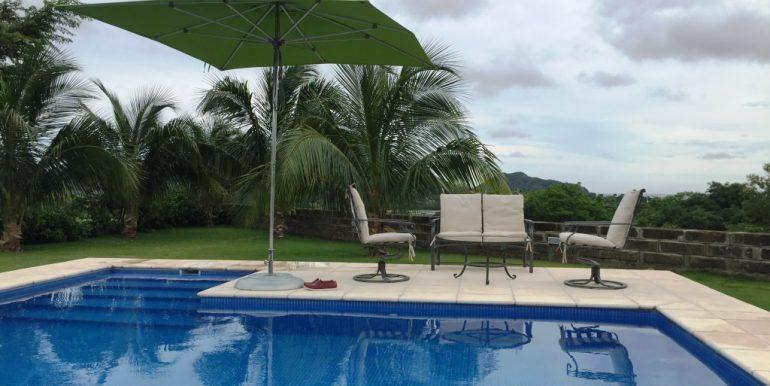 pool umbrella