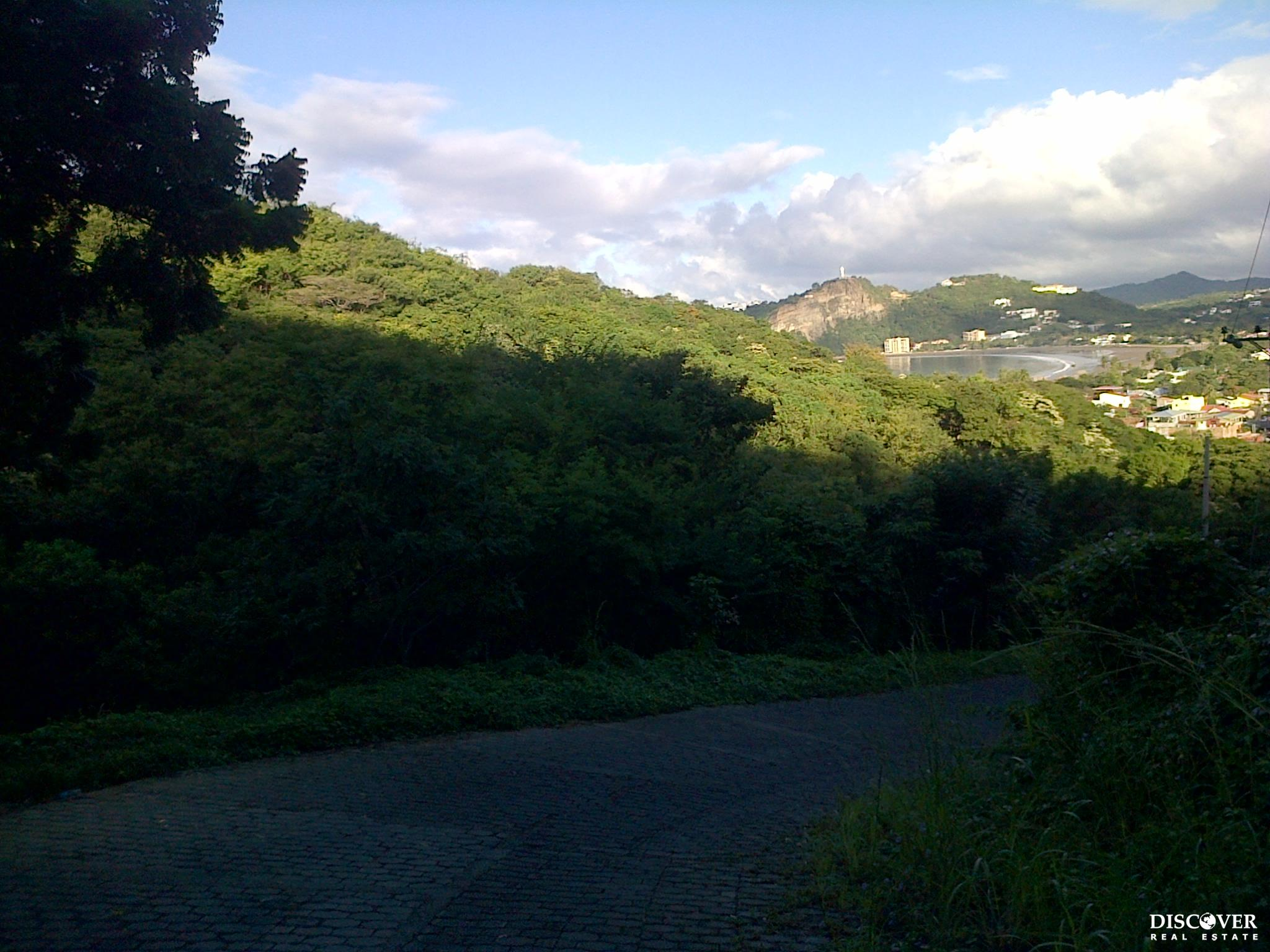 Hillside Lot with Road Access Above and Below in Vista Azul