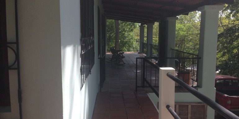 Spacious Front Patio