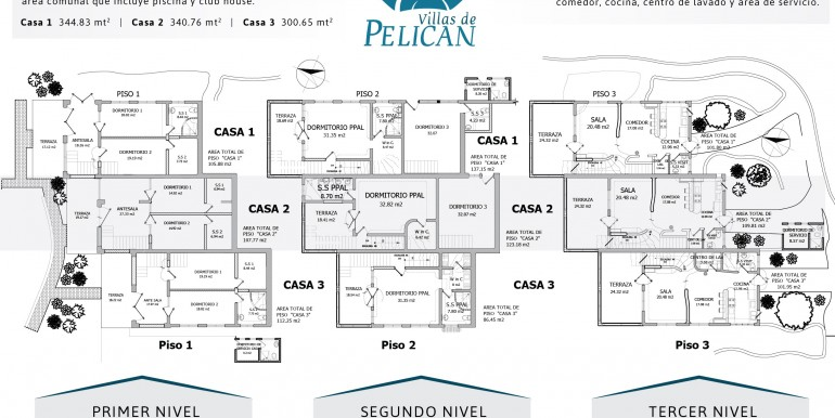Villas de Pelican Floor Plan