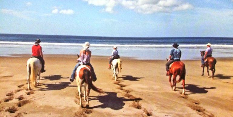 Big Sky Ranch Horseback Riding on the Beach