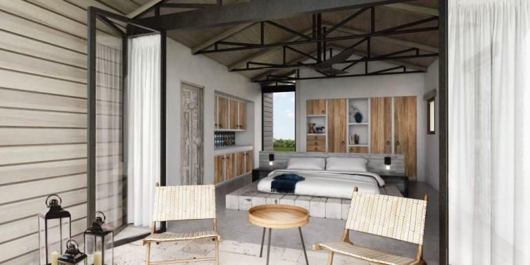 Big Sky Ranch Casita Bedroom
