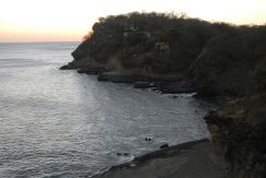 Sunset ocean view of Redonda Bay development