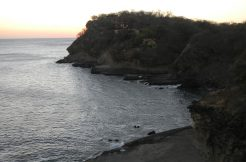 Sunset ocean view of Redonda Bay development