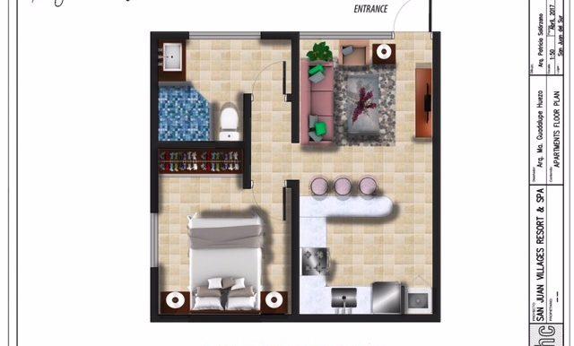_1 - One Bedroom Apartmente Lock off