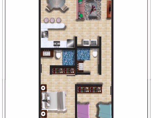 _4 - Two Bedroom Condo