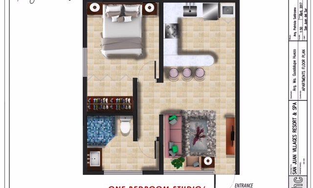_6 - One Bedroom Studio Lock Off