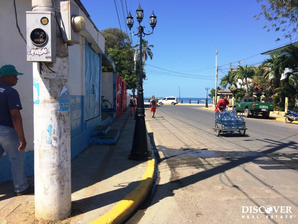 Rare Corner Lot 1/2 Block from the Ocean in San Juan del Sur
