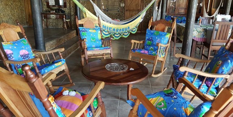 Casa el Coco Lounge Area