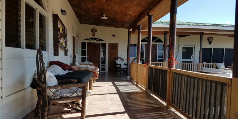 Casa el Coco Balcony