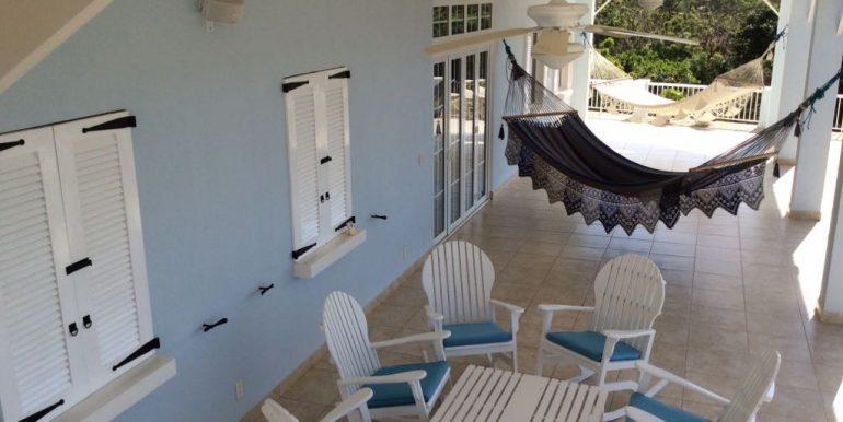 first floor patio