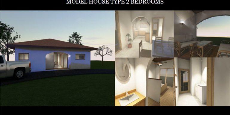 2 Bedroom model home