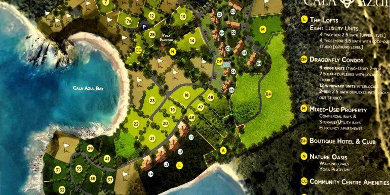 Cala Azul Master Site Plan