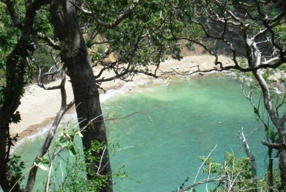 Cala Azul End of Bay View