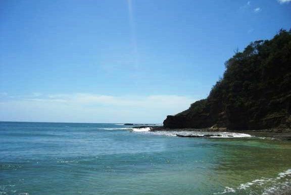 Cala Azul View From Ocean Level