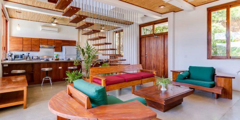Casa Brisas Living Room & Kitchen