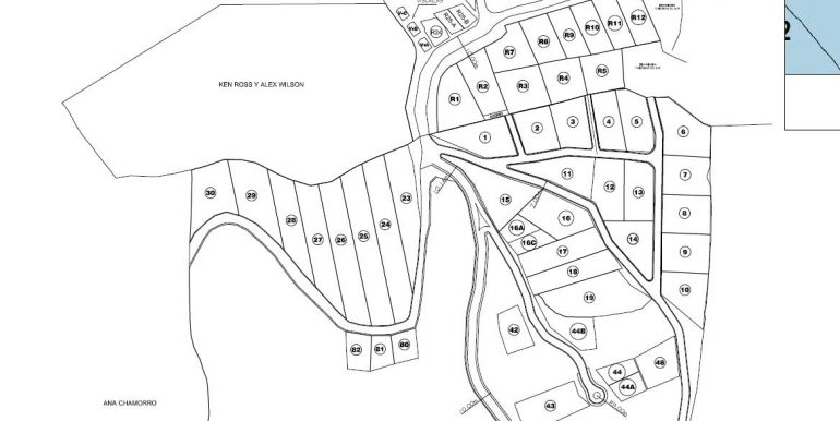 Development Map for Lot #11