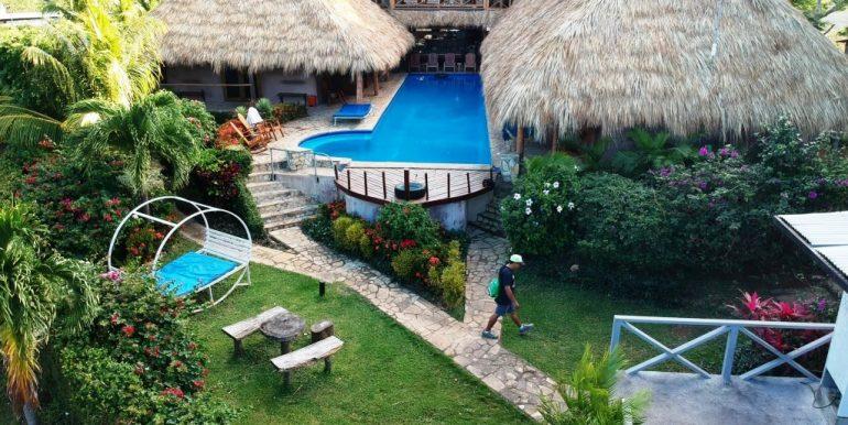 Pool and main lodge