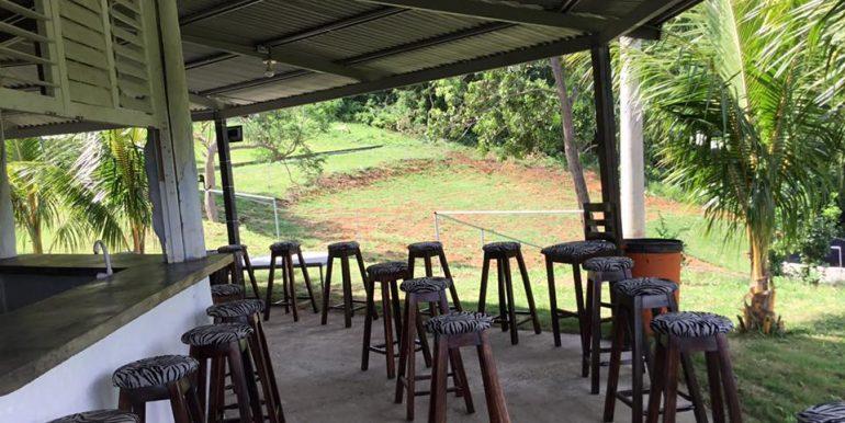 Vortex seating and hillside