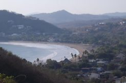 The view of the bay of San Juan del Sur from the 2 Bedroom House