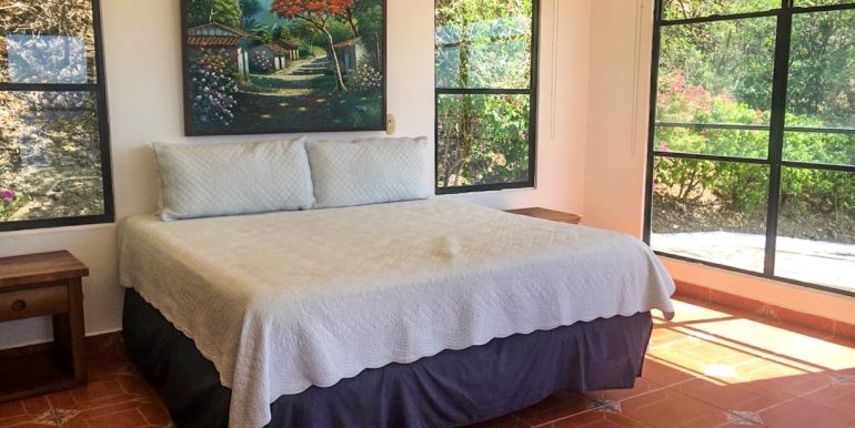 Casa Sacuanjoche Ocean Front Estate Bedroom