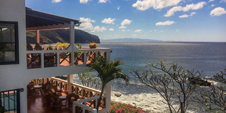 Casa Sacuanjoche Ocean Front Estate View