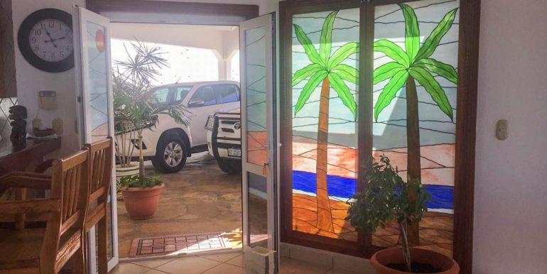 Casa Sacuanjoche Ocean Front Estate Entrance