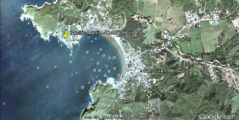 Casa Sacuanjoche Ocean Front Estate Map