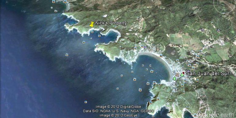 Google Earth Map - Nick's Property