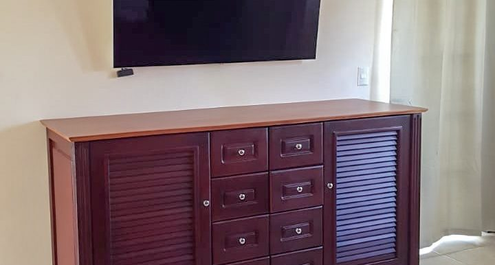 Las Escadas Townhouse Bedroom TV