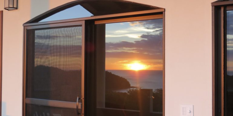 Casa Bacilon Sunset Reflection