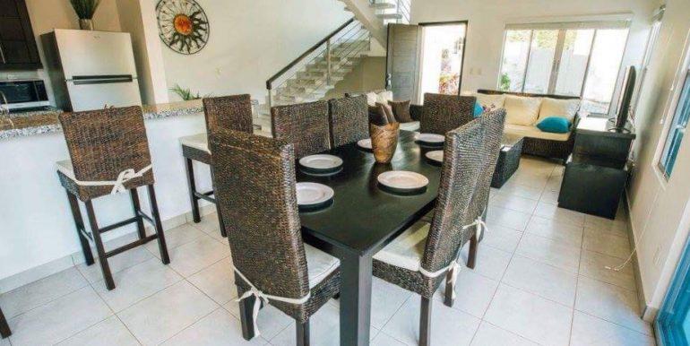 Casa Serenidad House For Rent Dining Room