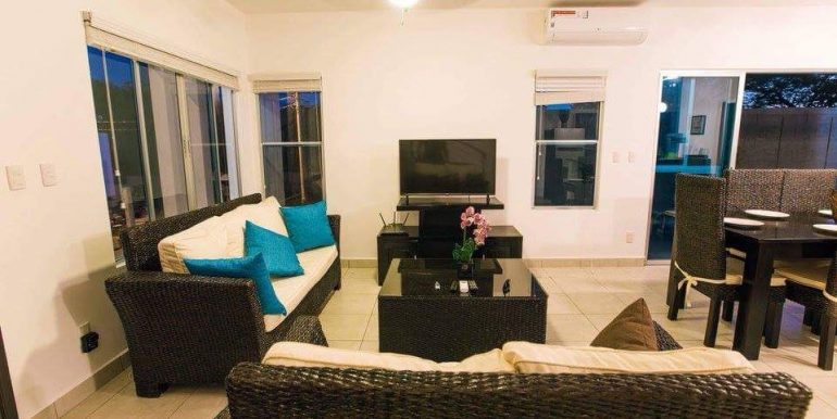 Casa Serenidad House For Rent Living Room