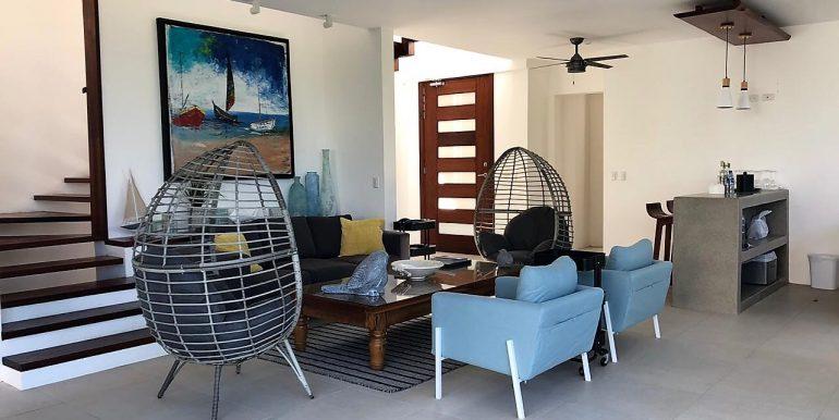 Wheelchair Accessible Villa Mare Living Room