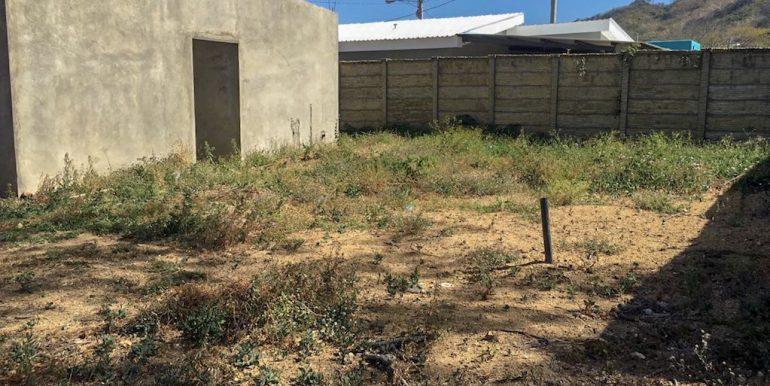 Las Delicias Partially Built House Yard