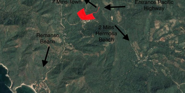 Santa Isabel property location to Remanso