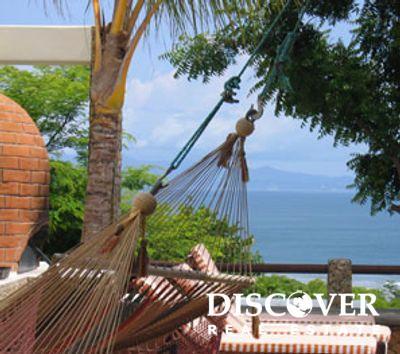 Casa Mariposa from the hammock