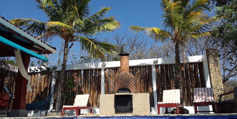 Casa Mariposa pool & Pizza oven