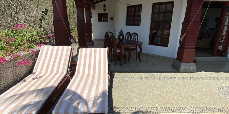 Casa Mariposa pool chairs