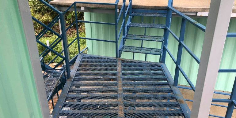 Container Hotel stairs