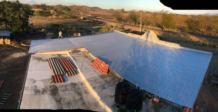 Southwestern House New Roof