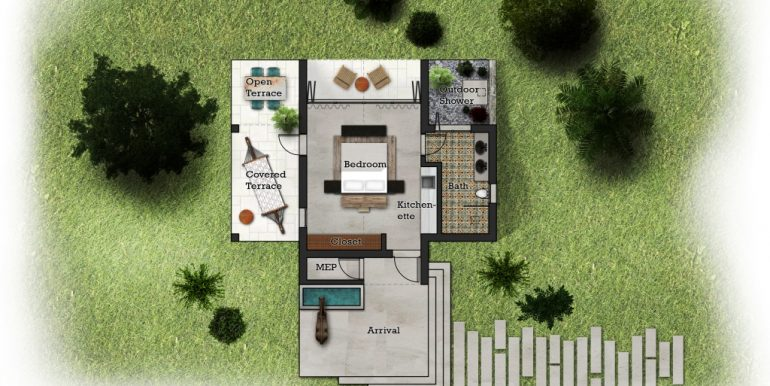 Casita Floor Plan Big Sky Ranch