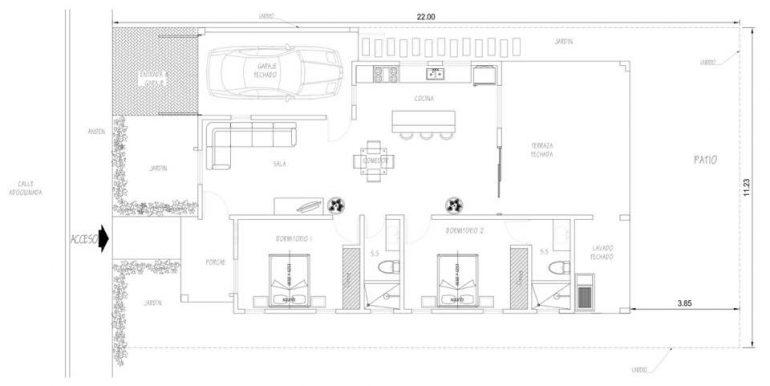 Villa San Juan Floor Plan