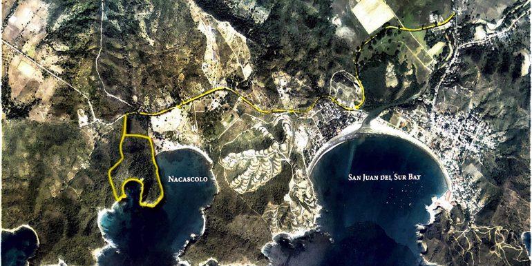 Cala Azul Area Map