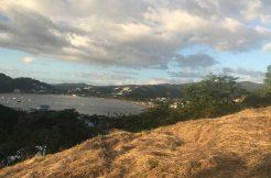 San Juan del Sur bay view from Brisas del Pacifico lot