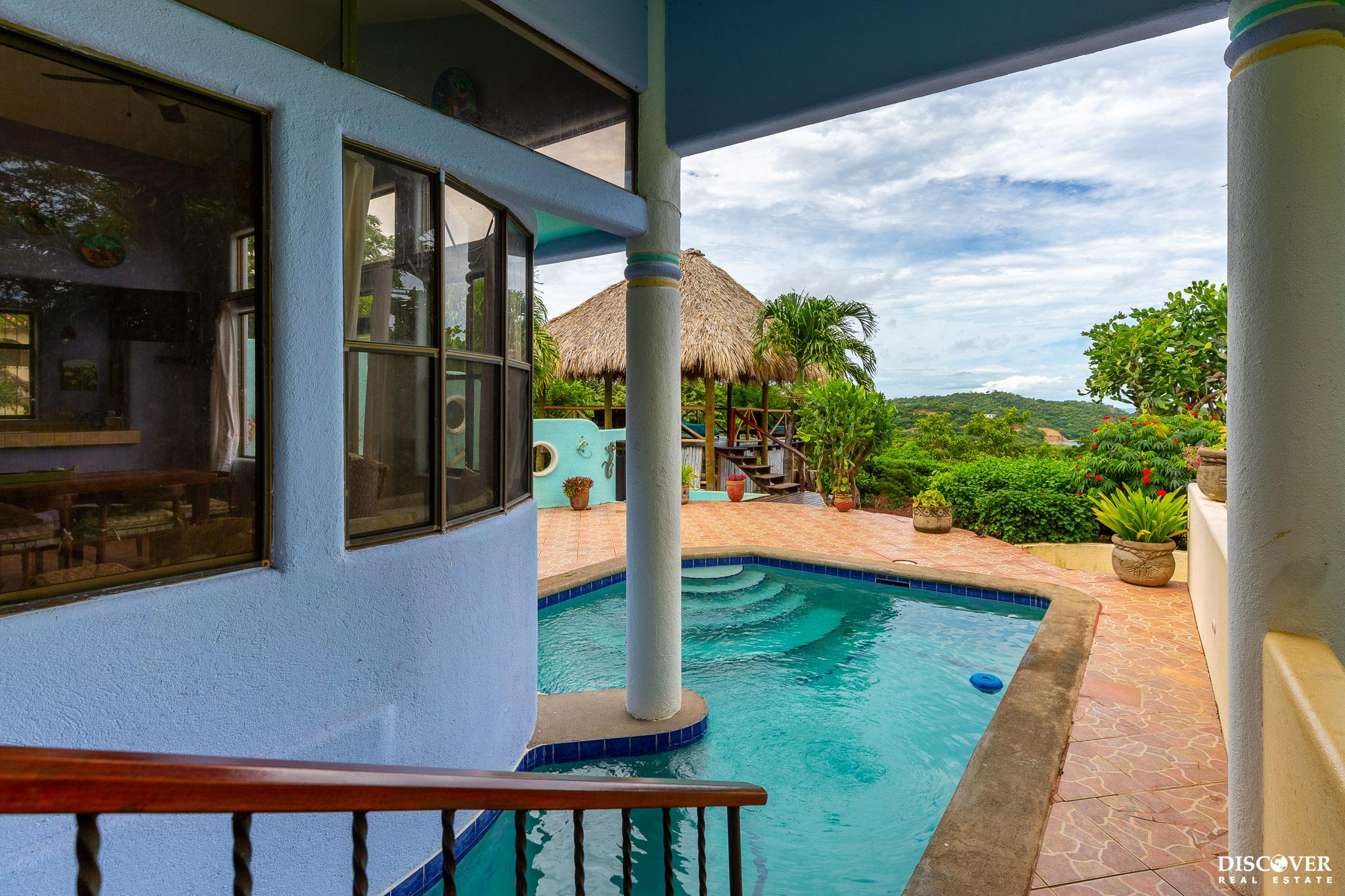 3 Bedroom Home with Fabulous Privacy Overlooking Nacascolo Bay