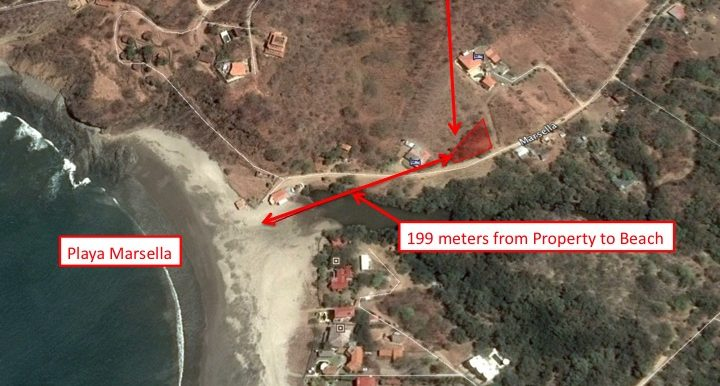 Playa Marsella Commercial Opportunity Map